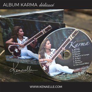 ALBUM KARMA DEDICACE
